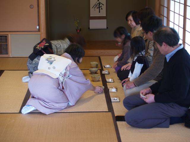 【体験教室】お茶席