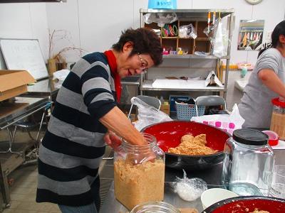 おばあちゃんの古里教室「さぬきの味・白味噌づくりに挑戦!」