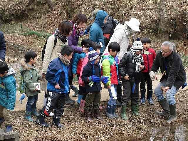 里山自然観察会「田んぼの生きもの探検隊 冬編」